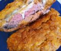 Flakes burger