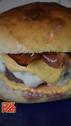 panino hamburger crema di zucca